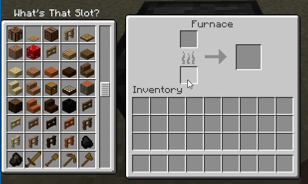 Whats That Slot Mod for minecraft_1