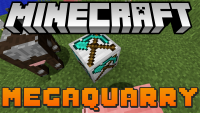 megaquarry mod for minecraft logo