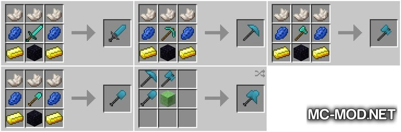 Flexible Tools Mod for Minecraft 2