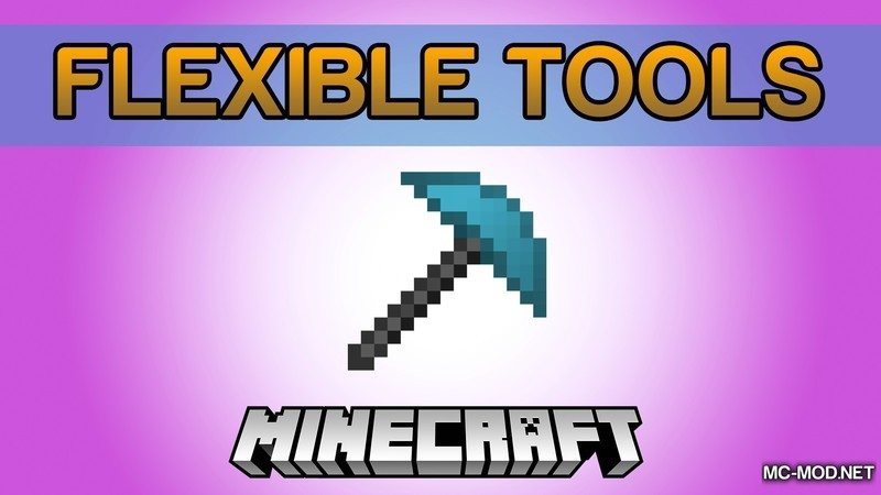 Flexible Tools Mod for Minecraft Logo