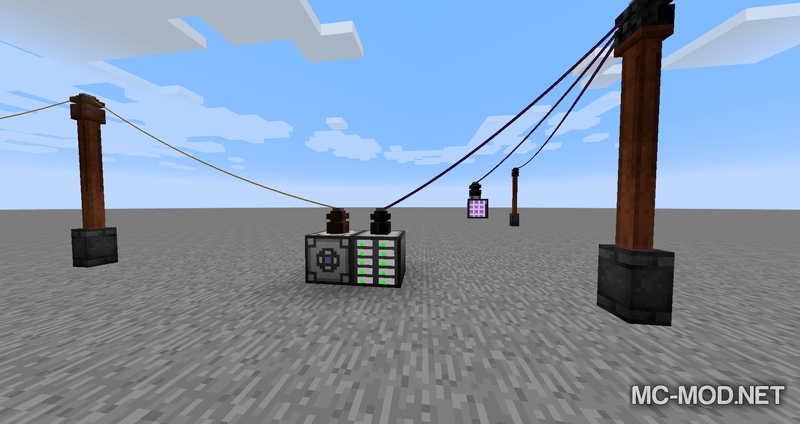 Industrial Wires mod for minecraft 02