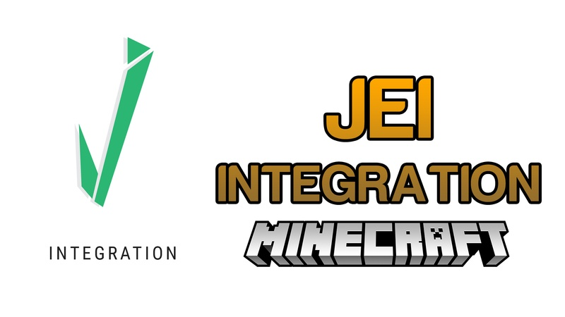 JEI Integration Mod for Minecraft Logo