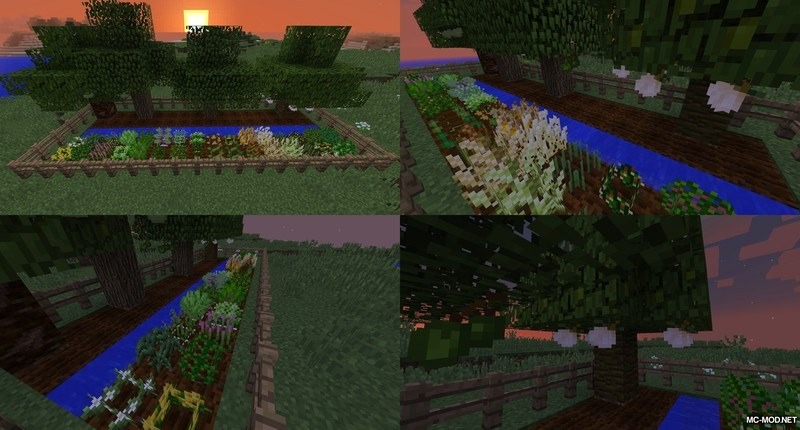 Just Enough HarvestCraft Mod for Minecraft 1