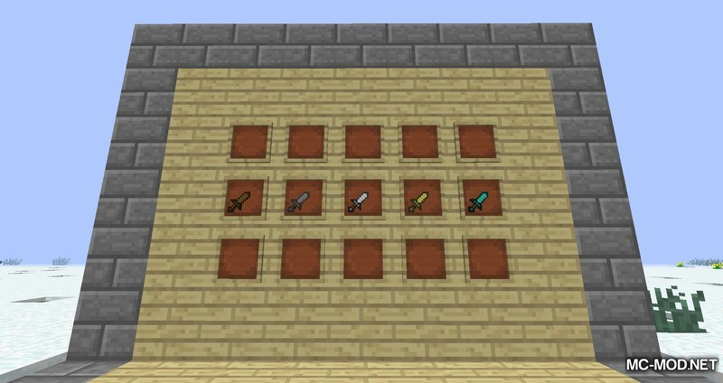 Just Daggers Mod for Minecraft 1