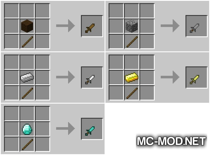 Just Daggers Mod for Minecraft 3