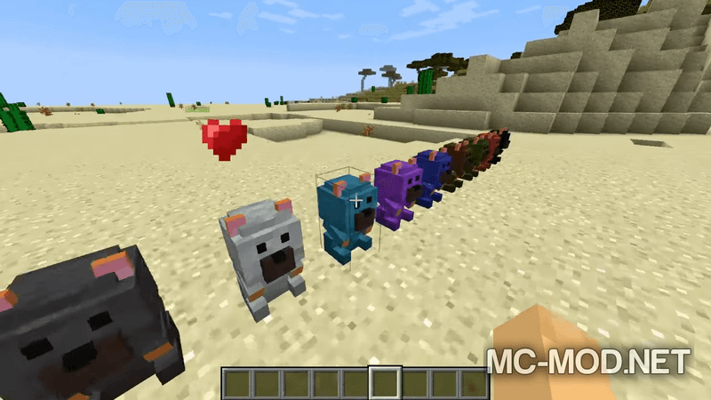 Potion Bears mod for minecraft 04