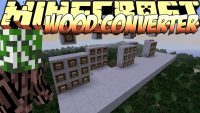 Wood Converter Mod for minecraft Logo