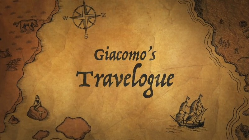 Giacomo's Travelogue mod for minecraft logo