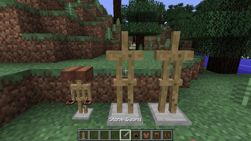 Armor Stand Configurator Mod for Minecraft 4