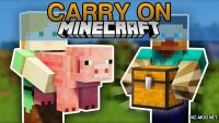 Carry On Mod for Minecraft Logo
