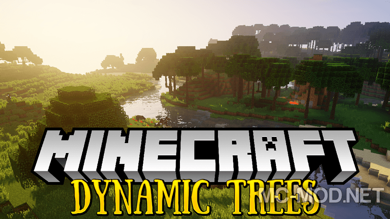 Dynamic Trees Mod 1 12 2/1 11 2 for Minecraft - Mc-Mod Net