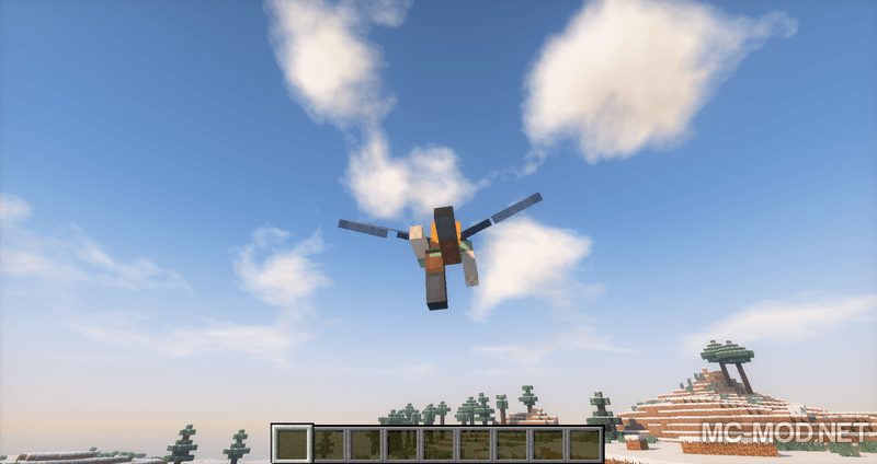 Third Person Elytra mod for minecraft 01