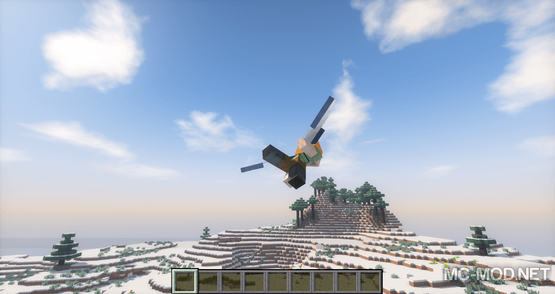 Third Person Elytra mod for minecraft 03