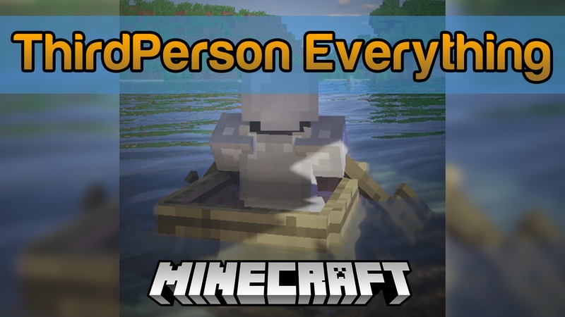 ThirdPerson Everything Mod for Minecraft Logo