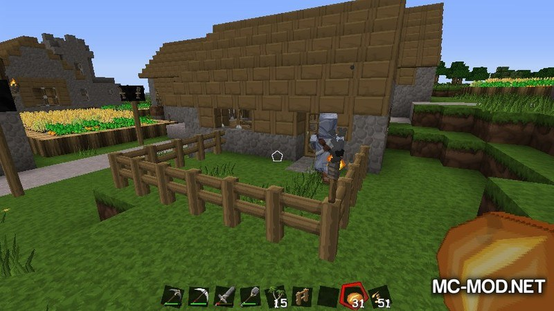 Fence Jumper Mod for Minecraft 3
