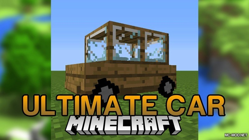 Ultimate Car Mod for Minecraft Logo