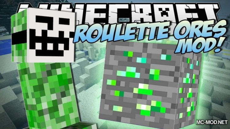Roulette Ores Mod for Minecraft Logo