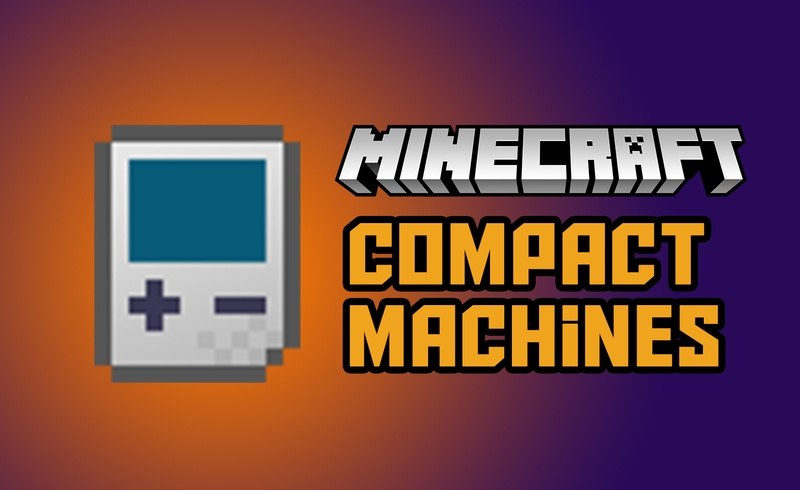 Compact Machines Mod for Minecraft Logo