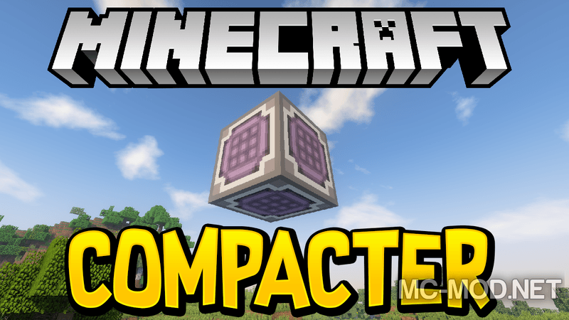 Compacter mod for minecraft logo