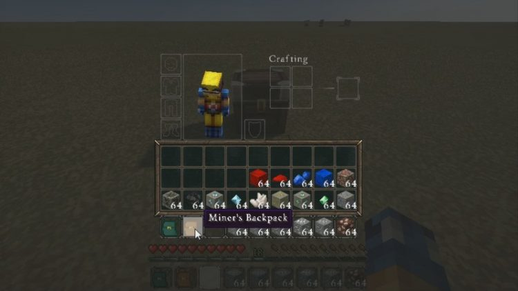Deep Pocket Mod for Minecraft 3