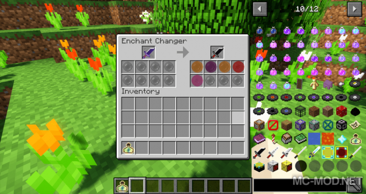 Enchant Changer mod for minecraft 12