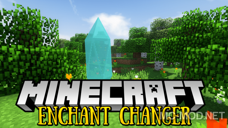 Enchant Changer mod for minecraft logo