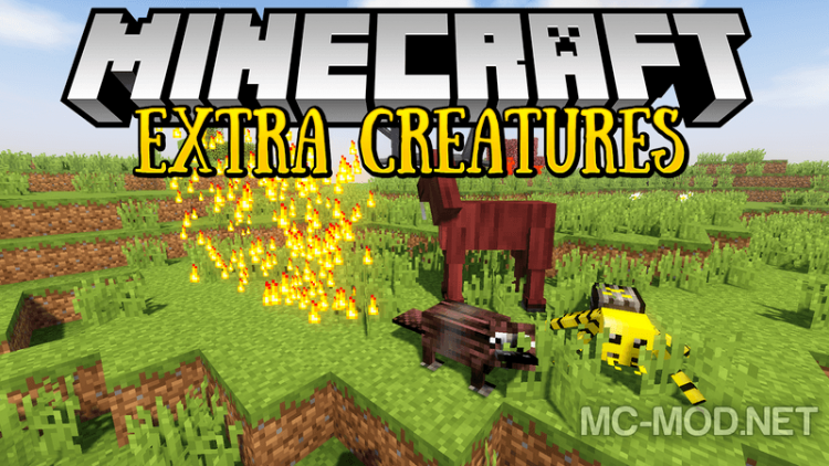 Extra Creatures mod for minecraft logo