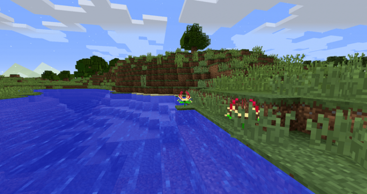 Flower Ores mod for minecraft 04