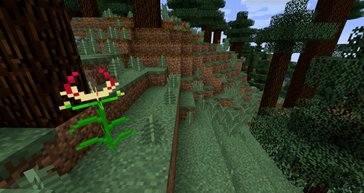 Flower Ores mod for minecraft 06