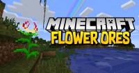 Flower Ores mod for minecraft logo