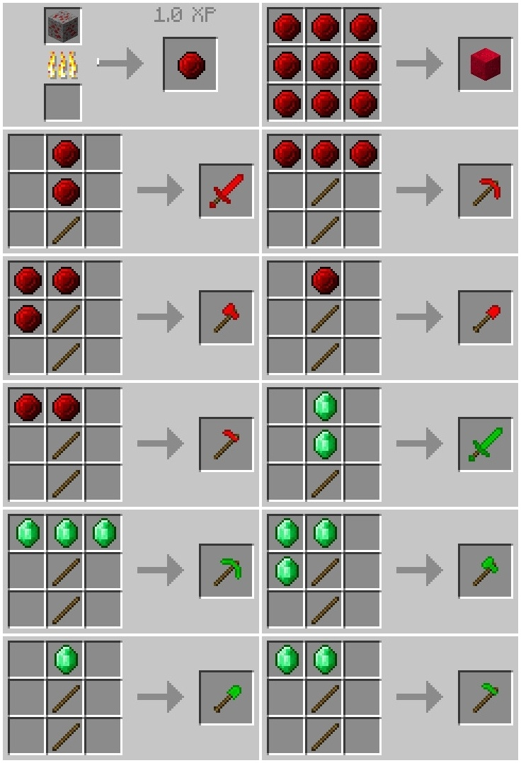 Just Another Ruby Mod 1111.111111.1111/1111.11111.11 for Minecraft - Mc-Mod.Net