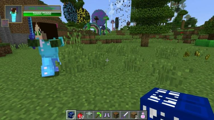 Time Machine Lucky Block mod for minecraft 05