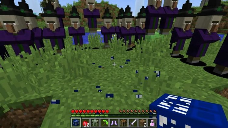 Time Machine Lucky Block mod for minecraft 06