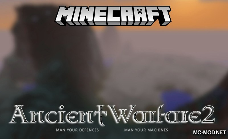 Ancient Warefare 2 Mod for Minecraft Logo