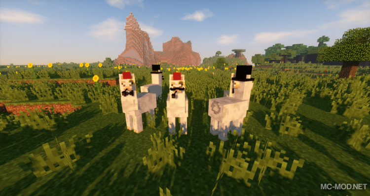 Better than llamas mod for minecraft 01