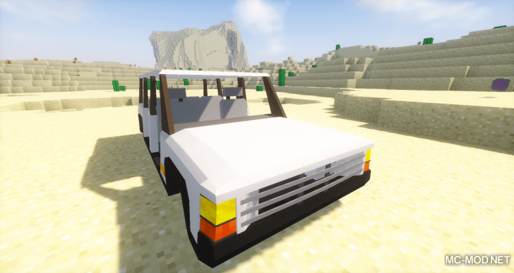 Fexs Vehicle and Transportation Mod for minecraft 06