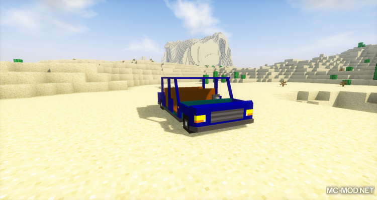 Fexs Vehicle and Transportation Mod for minecraft 08