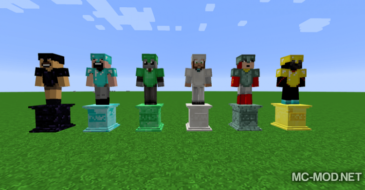 Gravestone mod Extended mod for minecraft 01