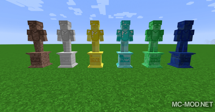 Gravestone mod Extended mod for minecraft 02