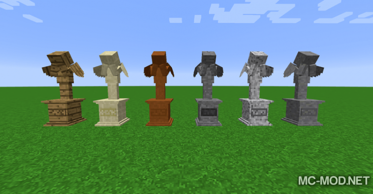 Gravestone mod Extended mod for minecraft 03