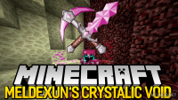 Meldexun_s Crytalic Void mod for minecraft logo