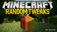 RandomTweaks mod for minecraft logo