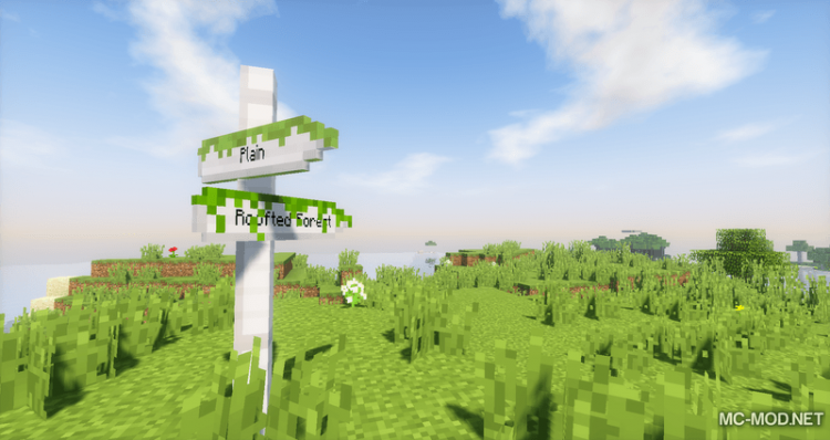 Sign Post mod for minecraft 05