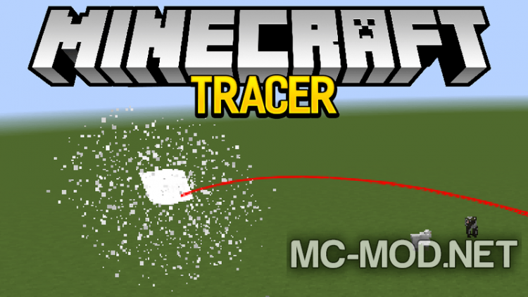 Tracer mod for minecraft logo