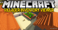 Villager inventory viewer mod for minecraft logo