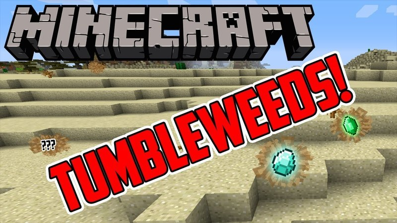 Tumbleweed mod for minecraft logo
