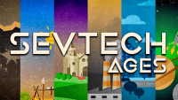sevtech ages mod for minecraft logo