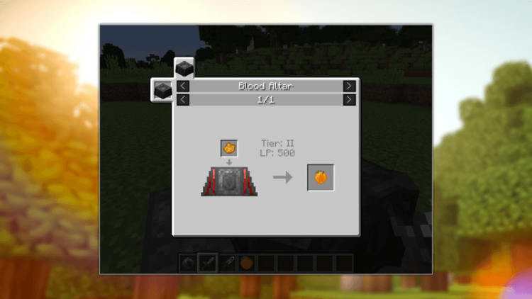Blood Arsenal mod for minecraft 02
