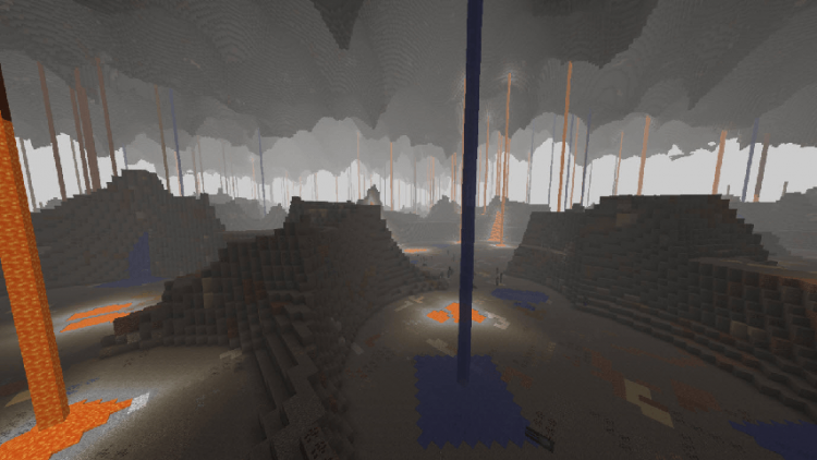 Cavern 2 mod for minecraft 02