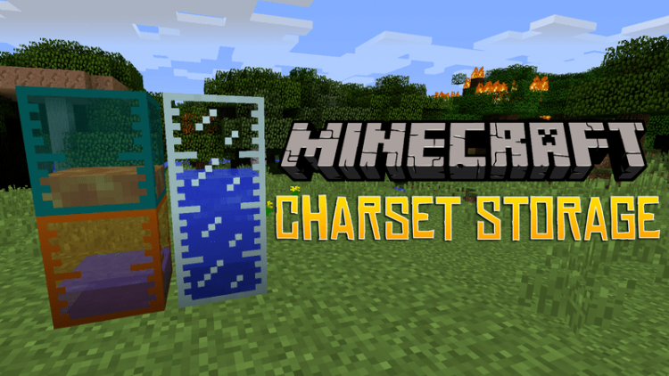 Charset Storage Tanks mod for minecraft logo
